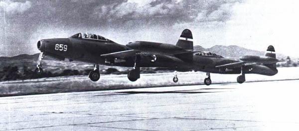 Republic F-84 Thunderjet F84a